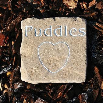 Tumbled Cobble Pet Memorial