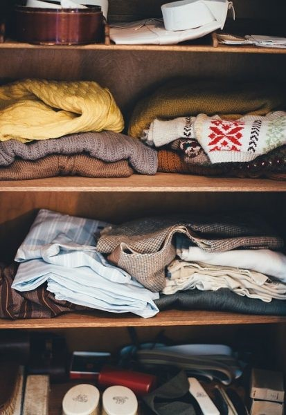 Donate Old Clothes