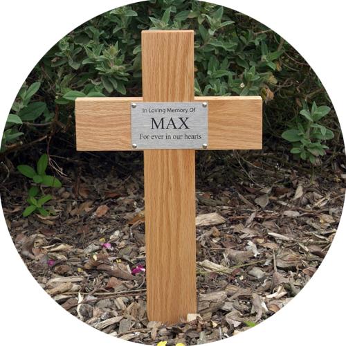The Oak Cross Pet Memorial