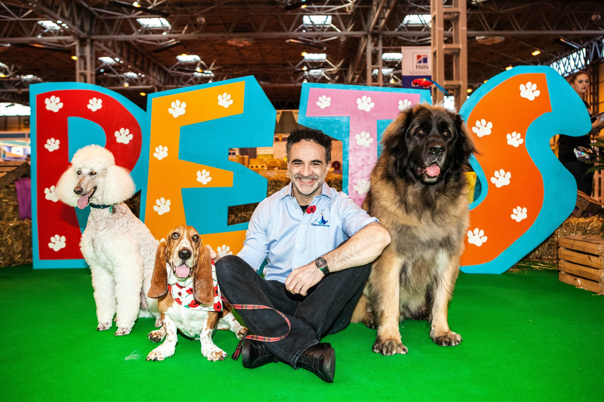 Noel Fitzpatrick at the National Pet Show