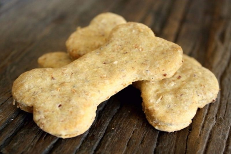 Dog treats - Flax Seed Dog Biscuits