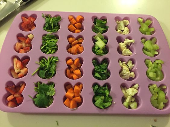 treats for your pet rabbit - fruit and vegetable cubes