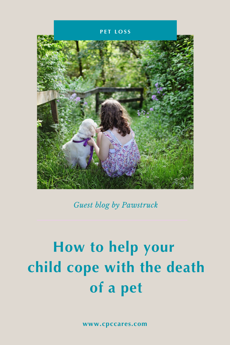 cope with the death of a pet