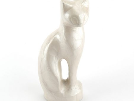 Pearl Metal Cat Urn