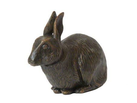 Rabbit resin urn