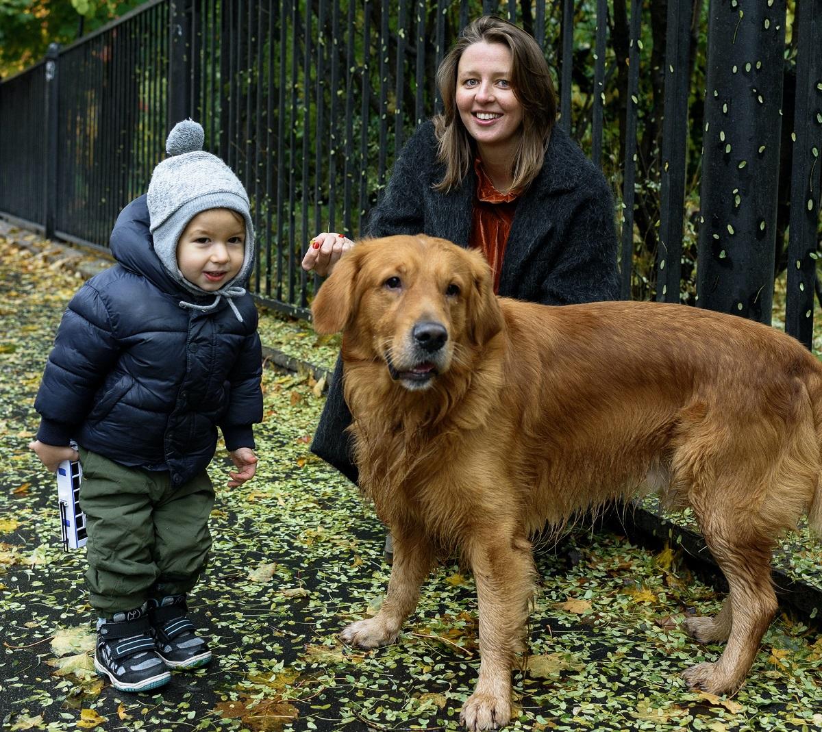 Supervise children when around dogs